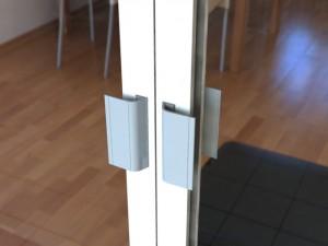 Aluminium Pad Handles