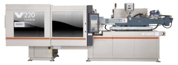 220 tonne Negri Bossi 'Canbio' Plastic Injection Moulding Machine